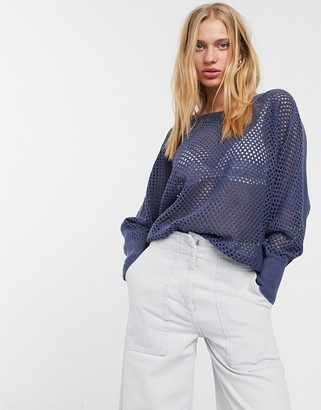 Only Parmalina long sleeve batwing sweater