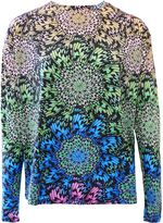 Matthew Williamson Aztec Print Long Sleeve Top