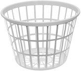 United Solutions LN0108 White Round Plastic Laundry Basket - Small Laundry Basket Round in White