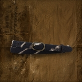 Denim & Supply Ralph Lauren Zebra-Print Skinny Belt