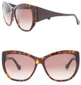 Balenciaga Women's 59mm Cat Eye Plastic Sunglasses