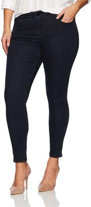 Jones New York Women's Plus Size Madison Slim Denim Jean