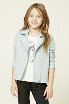 FOREVER 21 girls Girls Moto Jacket (Kids)