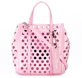 Marc Jacobs mini The Tag perforated tote