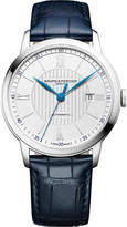 Baume & Mercier M0A10333 Classima stainless steel and crocodile leather watch