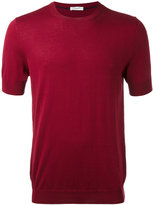 Paolo Pecora knit T-shirt - men - Silk/Cotton - S