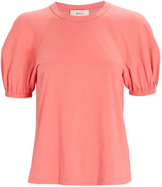 A.L.C. Lou Lantern Sleeve T-Shirt