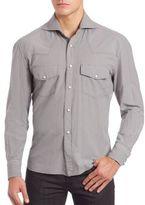 Eidos Double Pocket Long Sleeve Shirt