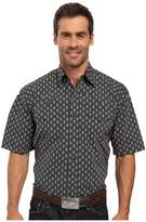 Stetson Paisley Dot Short Sleeve Woven Snap Shirt