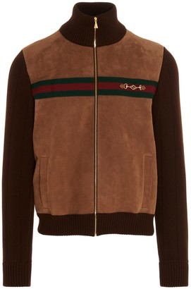 Gucci Knit Bomber Jacket