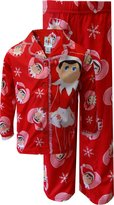 AME Sleepwear I Love My Elf on the Shelf Snowflake Holiday Pajamas for girls