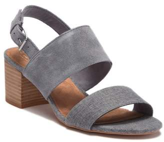 Toms Poppy Stacked Block Heel Sandal