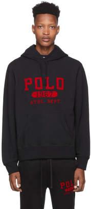Polo Ralph Lauren Black Vintage Fleece Hoodie