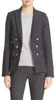 Veronica Beard Women's Jet Faux Double Breasted Jacket
