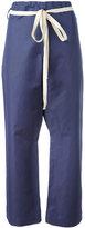 Sofie D'hoore Pilates cropped trousers - women - Cotton/Linen/Flax - 36