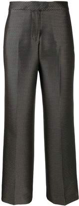 Pt01 micro-pattern trousers