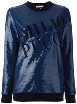 Emilio Pucci sequin embellished sweatshirt