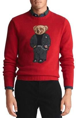 Polo Ralph Lauren Suit Bear Wool Sweater