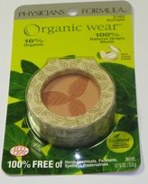 Physicians Formula Organic Wear 100% Natural Blush, Natural Organics, 0.19 Ounce