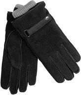 Grandoe Suede Gloves with Removable Knit Liners (For Men)