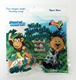 Kids Jungle Floss-ups Flossers Tropical Fruit Flavor, 30 Ct (Pack of 3)
