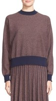 Tanya Taylor 'Palm' Metallic Knit Sweater