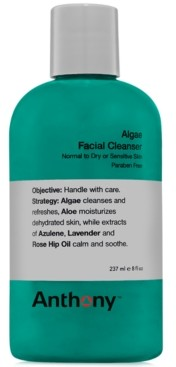 Anthony Logistics For Men Algae Facial Cleanser, 8 oz
