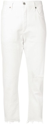 Citizens of Humanity slim distressed jeans