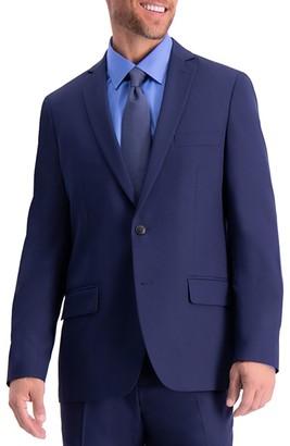 Haggar Men's Active Series Heathered Slim-Fit Suit Jacket
