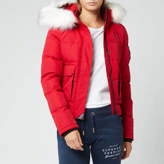 Superdry Women's Everest Ella Bomber Jacket