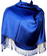 Silver Fever® Nepal Solid Two Ply Warm Soft Pashmina Scarf Shawl Wrap By Silver Fever Brand