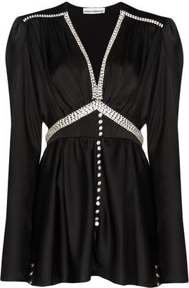 Paco Rabanne Diamante Embellished Dress