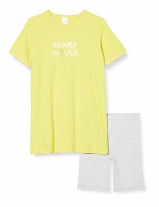 Schiesser Girl's Mouse Md Schlafanzug Kurz Pyjama Set