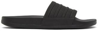 adidas Black Adilette Comfort Slides