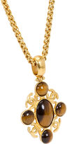 One Kings Lane Vintage Chanel Rare Tigers Eye Necklace, 1995
