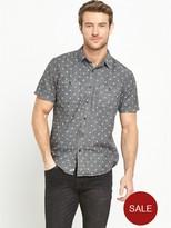 Denim & Supply Ralph Lauren Ralph Lauren Star Print Short Sleeved Shirt