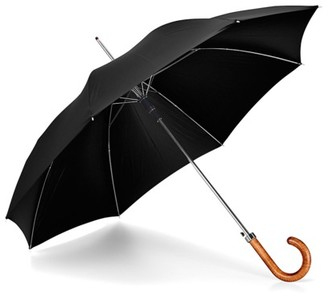Aspinal of London Walking Length Automatic Umbrella with Maple Wood