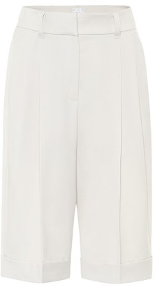 Brunello Cucinelli Virgin wool Bermuda shorts