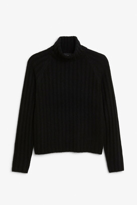 Monki Knit turtleneck sweater