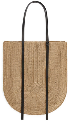 Arket Large Straw Tote