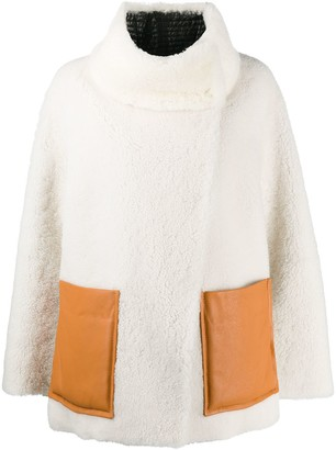 Dorothee Schumacher Curly Mix shearling jacket