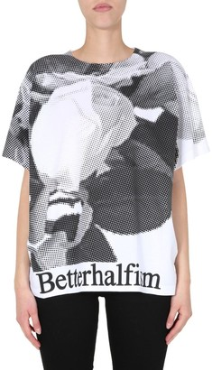 MM6 MAISON MARGIELA Betterhalfism Print Oversized T-Shirt