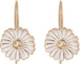 Alison Lou Sapphire, enamel & yellow-gold Daisy earrings