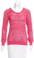 See by Chloe Open Knit Crew Neck Sweater