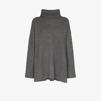 Le Kasha Lisbon oversized cashmere sweater