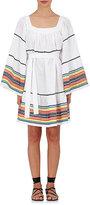 Lisa Marie Fernandez Women's Linen Cover-Up Peasant Dress-White