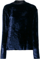 Maison Margiela open back sweater - women - Silk/Cotton/Cupro/Viscose - 42