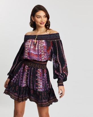 Camilla Off-Shoulder Short Dress