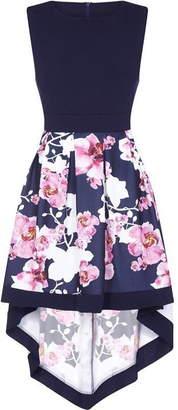 Yumi London Curve Two Tone High Low Dress