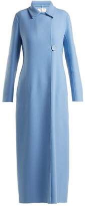 The Row Tralty Cashmere Coat - Womens - Blue
